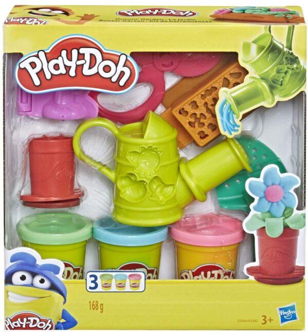 Play-Doh Set di Attrezzi, Accessori Assortiti con Vasetti di Pasta da Modellare