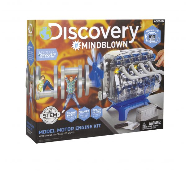 DISCOVERY KIT MOTORE AUTO MICROPLANET ORIGINAL