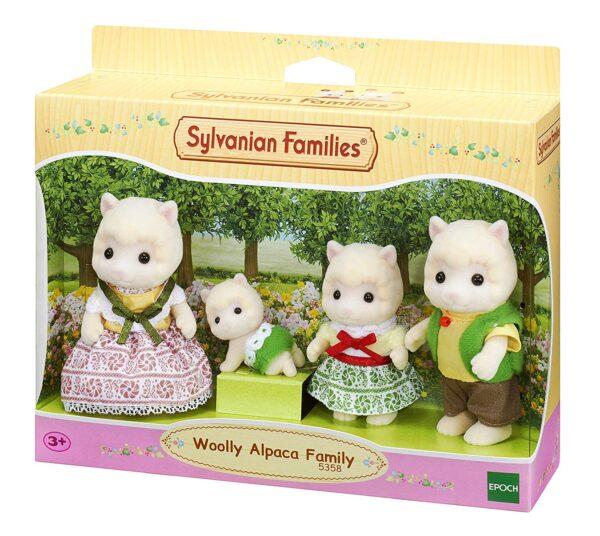 SYLVANIAN FAMILIES - FAMIGLIA ALPACA