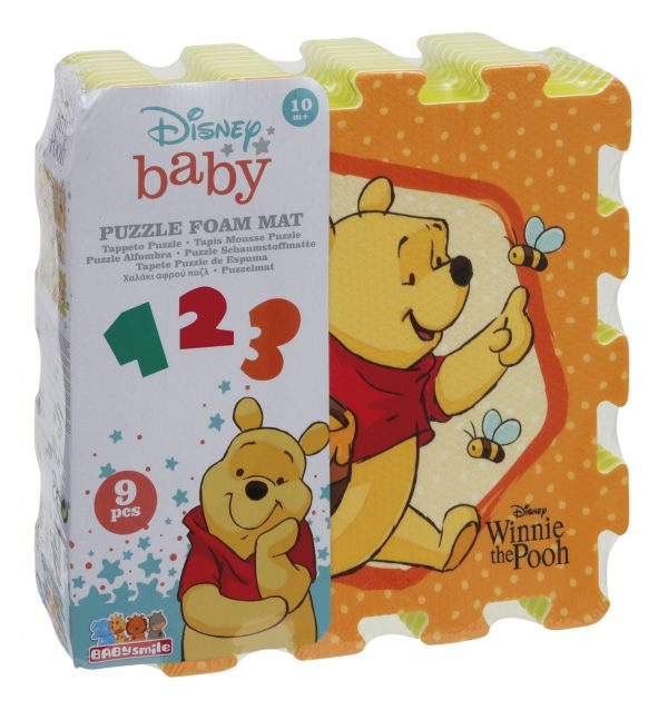 WINNIE THE POOH TAPPETO PUZZLE SOFT WOOD 'N' PLAY