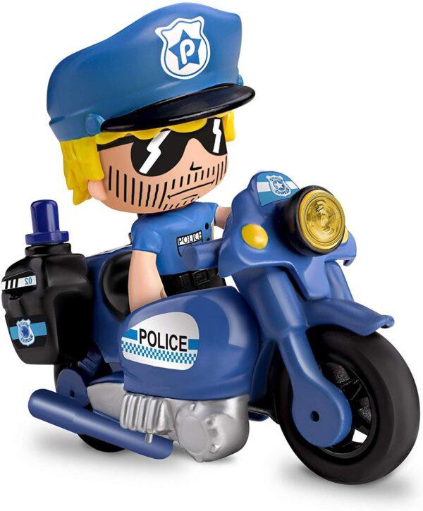 Giochi Preziosi Pinypon Action 2 Veicoli Polizia con Personaggio e Accessori