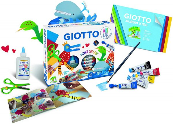 Giotto Art Lab Funny Collage - Kit Creativo