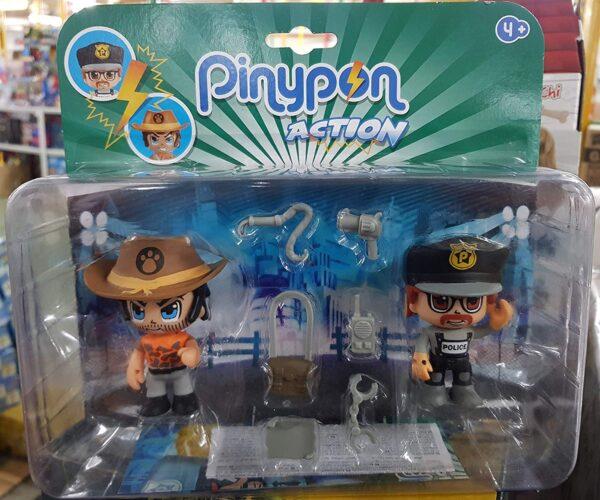 Giochi Preziosi PINYPON Action Pack 2 Personaggi SOGETTI Assortiti A Scelta