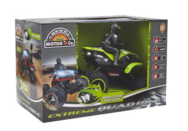 QUAD R/C EXTREME    MOTOR & CO.