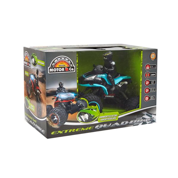 MOTOR&CO Quad radiocomandato extreme MOTOR & CO.