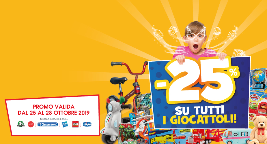Compleanno Toys Center