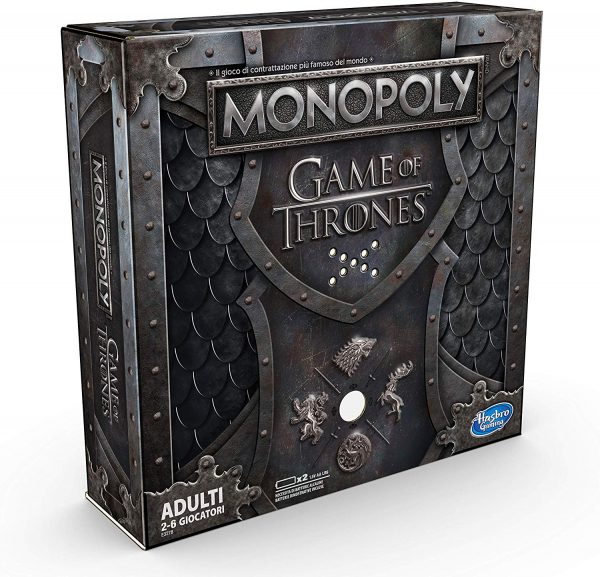 Hasbro Monopoly: Game of Thrones Simulazione economica Adulti