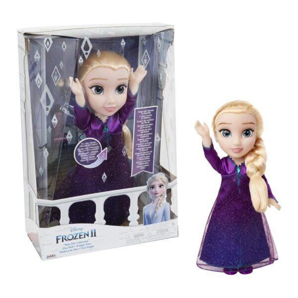 Giochi Preziosi- Elsa Cantante con Luci e Suoni Bambola, Multicolore, FRN89000 Frozen