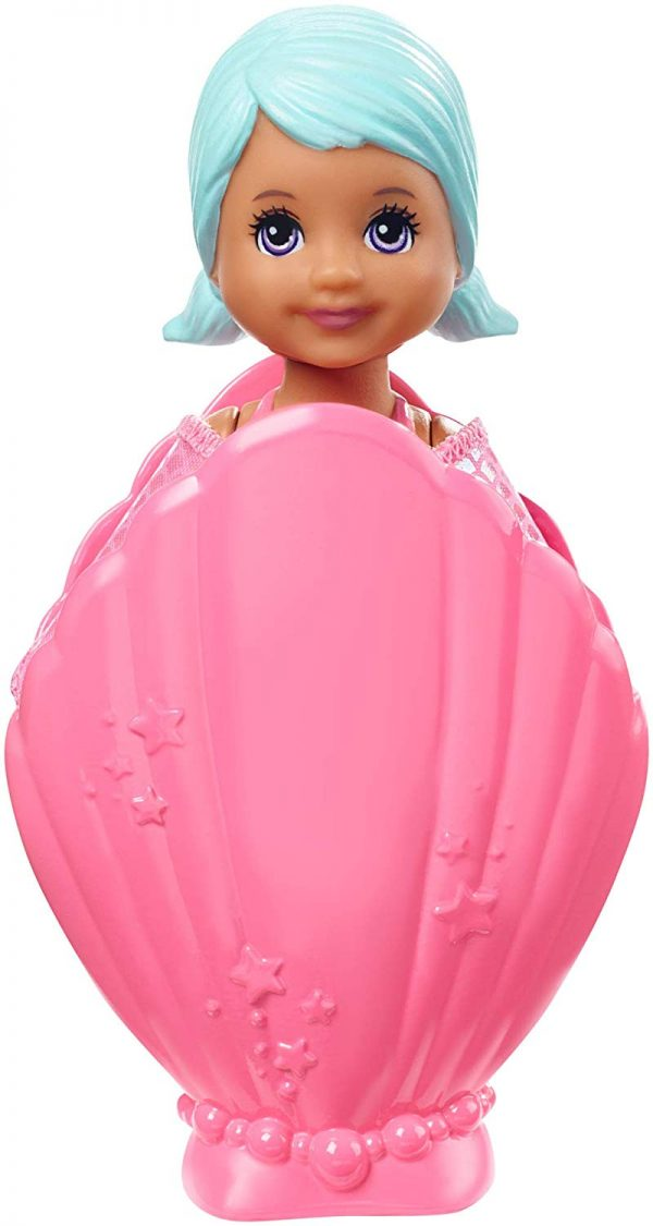 Barbie Dreamtopia, Mini Bambole Sirene, Assortimento, Un Modello Casuale, Giocattolo per Bambini 3 + anni, GHR67    Barbie