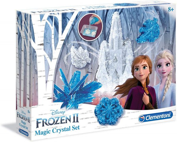 Clementoni  - 18524 - Disney Frozen 2 - Magic Crystal set