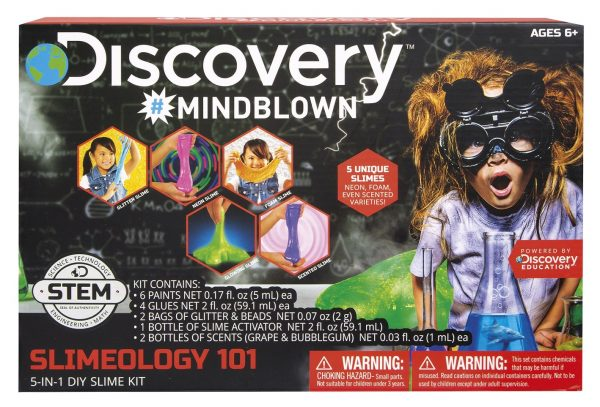 DISCOVERY KIT SLIMEOLOGY 5 IN 1 MICROPLANET ORIGINAL