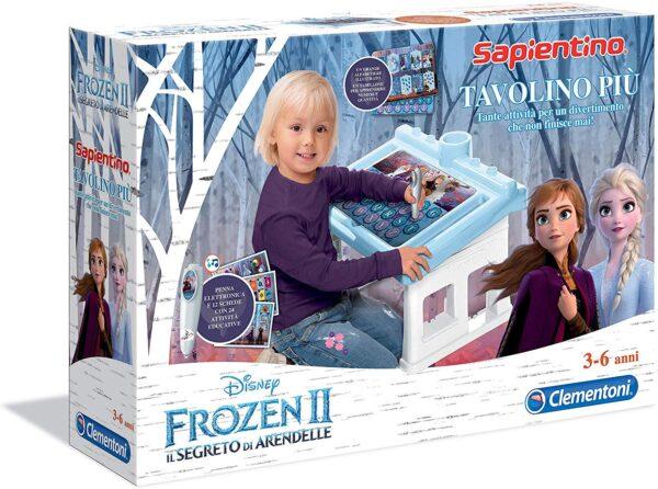 Clementoni  - 16231 - Tavolino Più Disney Frozen 2