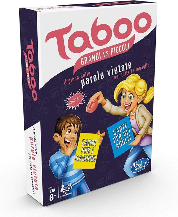 Hasbro Taboo Piccoli vs Grandi (gioco in scatola)  Unisex 12-36 Mesi, 12+ Anni, 3-4 Anni, 3-5 Anni, 5-7 Anni, 5-8 Anni, 8-12 Anni