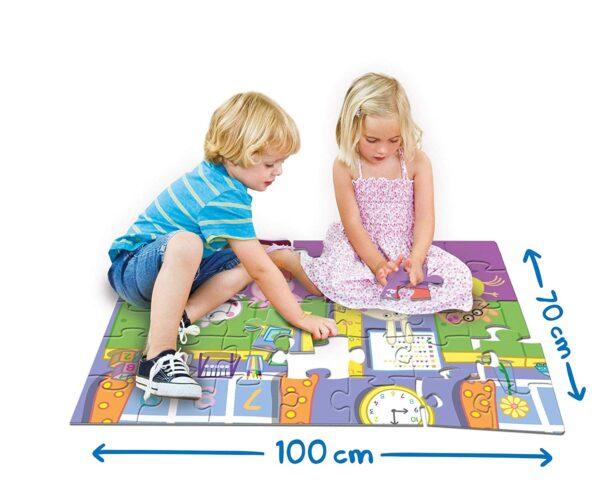 Puzzle da pavimento Peppa Pig Unisex 3-4 Anni, 3-5 Anni, 5-7 Anni, 5-8 Anni