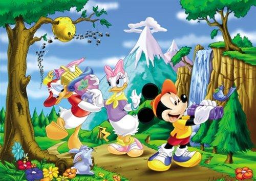 Puzzle da pavimento Mickey Mouse  Unisex 3-4 Anni, 3-5 Anni, 5-7 Anni, 5-8 Anni