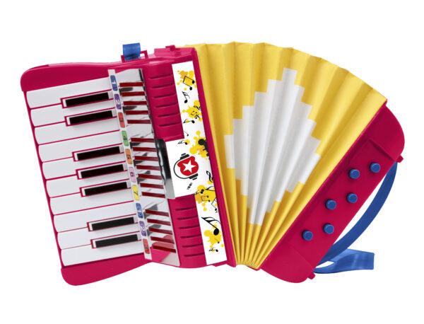 FISARMONICA 17 TASTI MUSIC STAR, MUSICSTAR Unisex 3-4 Anni, 3-5 Anni, 5-7 Anni, 5-8 Anni