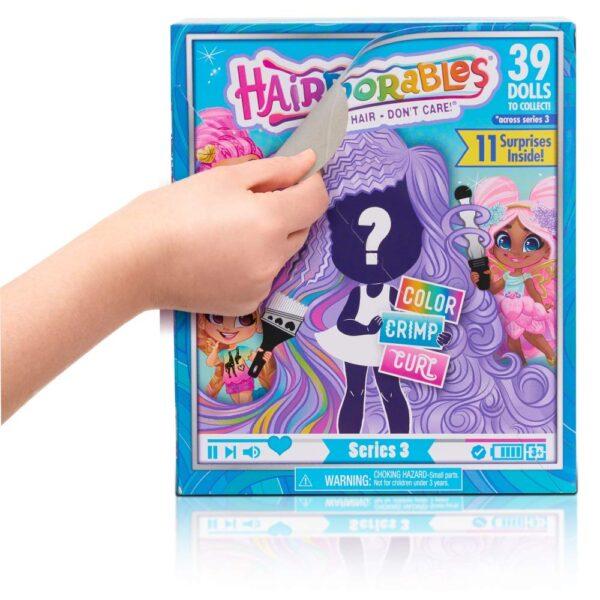 Hairdorables S3, Multicolore Femmina 3-4 Anni, 3-5 Anni, 5-7 Anni, 5-8 Anni