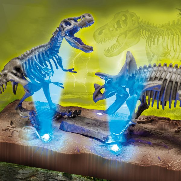 SCIENZA HI TECH DINOSAURI LED