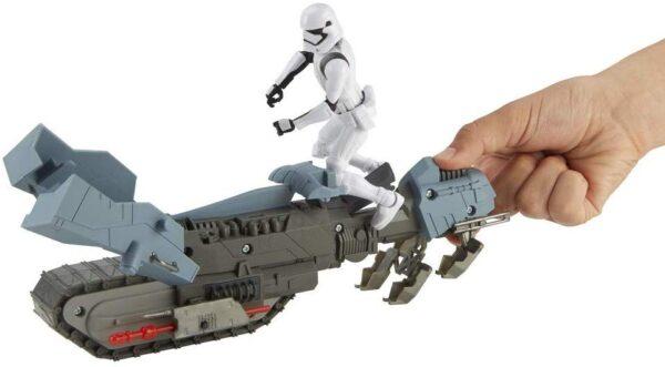 Star Wars Galaxy Of Adventures Primo Ordine Giocattolo Driver e Treadspeeder
