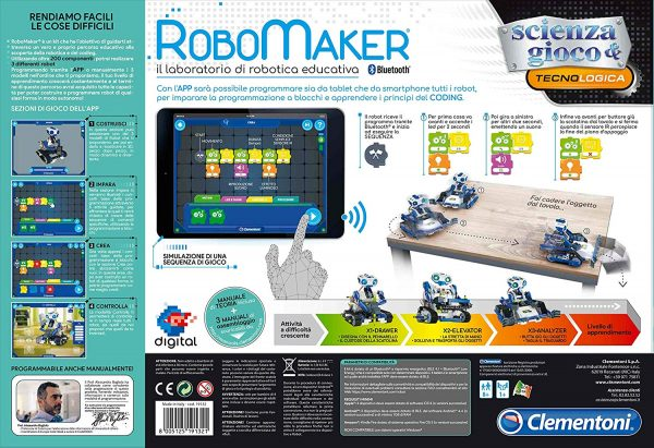 Clementoni - 19132 - RoboMaker Start