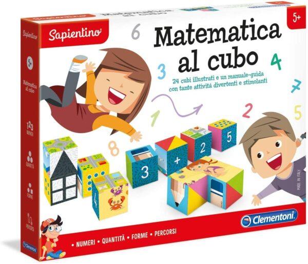 MATEMATICA AL CUBO - Sapientino - Toys Center SAPIENTINO Unisex 3-5 Anni, 5-8 Anni ALTRI