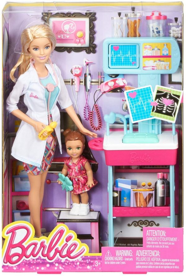 Barbie Playset Carriere - assortito  Femmina 3-4 Anni, 3-5 Anni, 5-7 Anni, 5-8 Anni