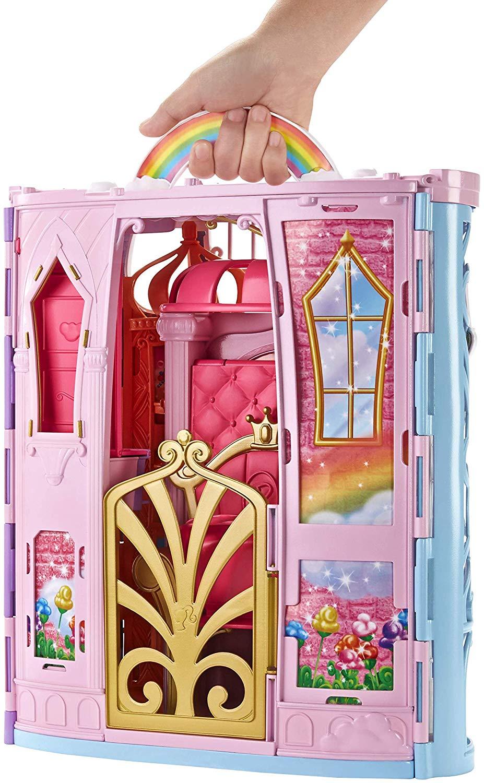 Letto A Castello Barbie.Castello Della Baia Arcobaleno Toys Center