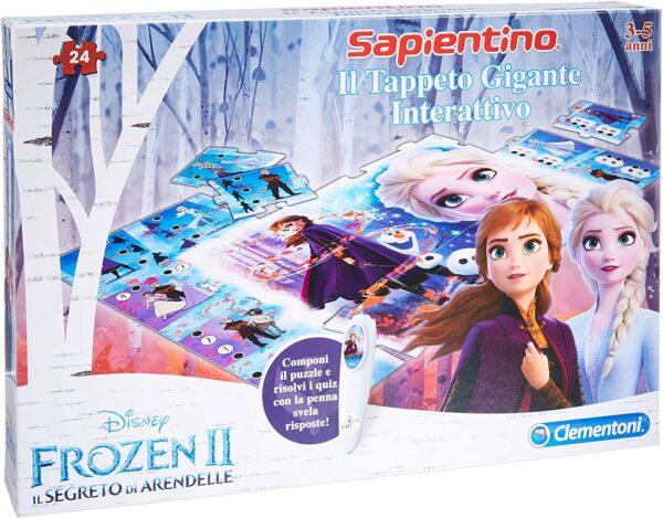 Clementoni  - 16187 - Tappeto Gigante Interattivo Disney Frozen 2
