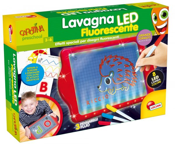 CAROTINA LAVAGNONA FLUORESCENTE LED