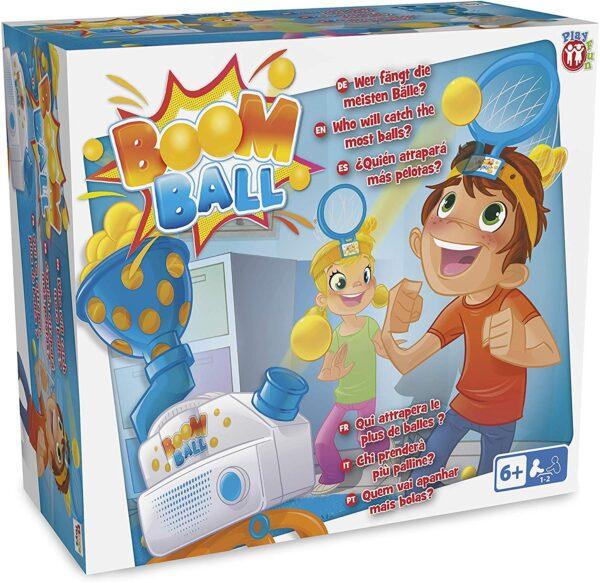 IMC Toys - 95977 - Boom Ball bazooka spara palline  Unisex 12+ Anni, 5-7 Anni, 5-8 Anni, 8-12 Anni