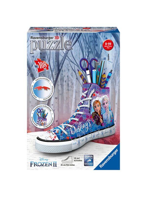Ravensburger puzzle 3D - Sneaker Frozen