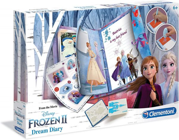 Clementoni  - 18518 - Disney Frozen 2 - Dream Diary