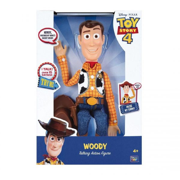TOY STORY 4 WOODY PARLANTE  Maschio 12+ Anni, 5-7 Anni, 5-8 Anni, 8-12 Anni TOY STORY