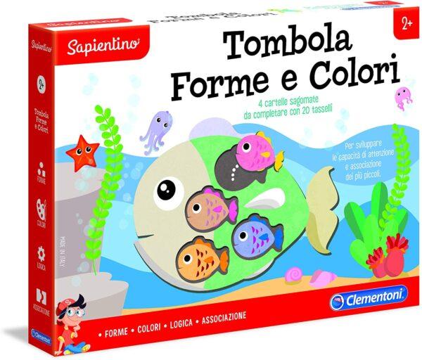TOMBOLA FORME E COLORI - Sapientino - Toys Center SAPIENTINO Unisex 12-36 Mesi, 3-5 Anni, 5-8 Anni ALTRI