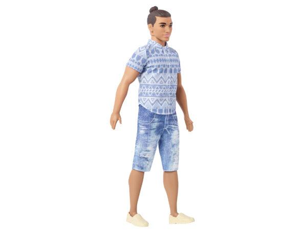 Barbie - Ken Fashionistas Moda a Quadretti, da collezionare - FNH39 Barbie Femmina 12-36 Mesi, 12+ Anni, 8-12 Anni ALTRI