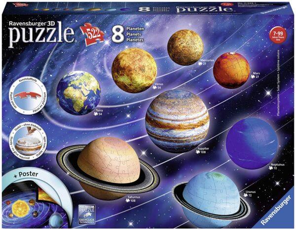 Ravensburger puzzle 3D - Il sistema planetario