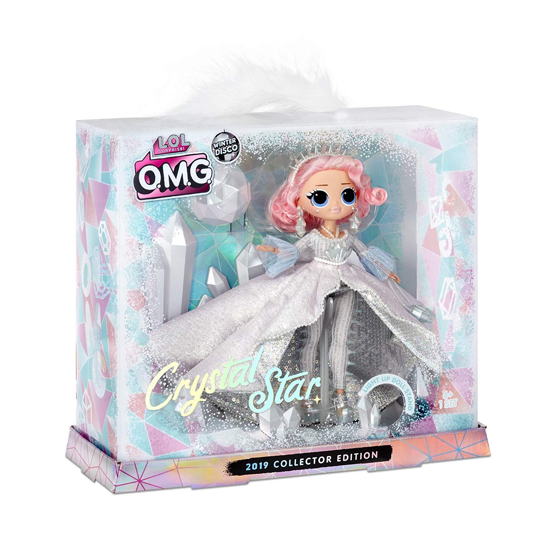 L.O.L. Surprise! 562364 L.O.L. Sorpresa O.M.G. Crystal Star 2019 Collector Edition