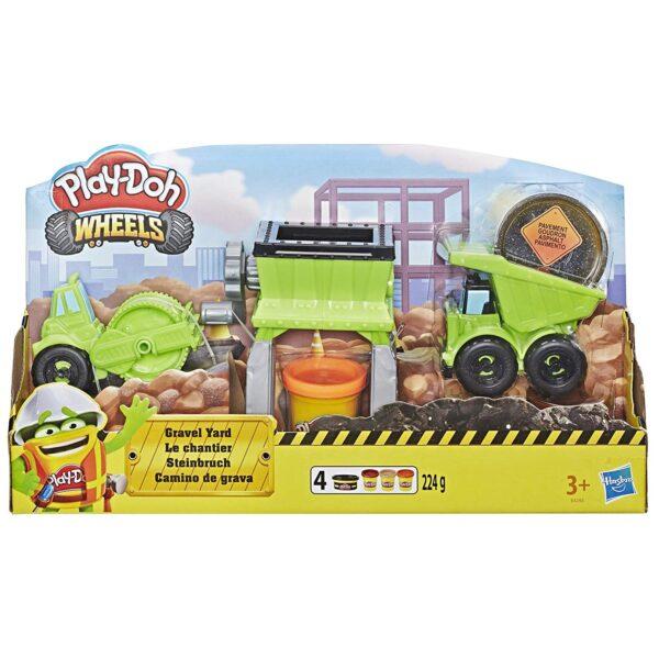 Play-Doh Wheels il Cantiere  Maschio 3-4 Anni, 3-5 Anni, 5-7 Anni, 5-8 Anni