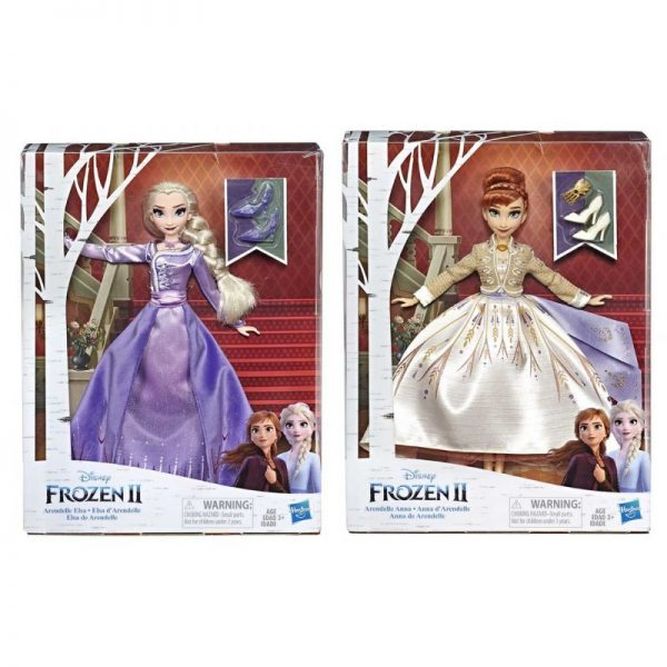 Disney Frozen - Bambola Arendelle (ispirata al film Frozen 2, prodotto assortito)