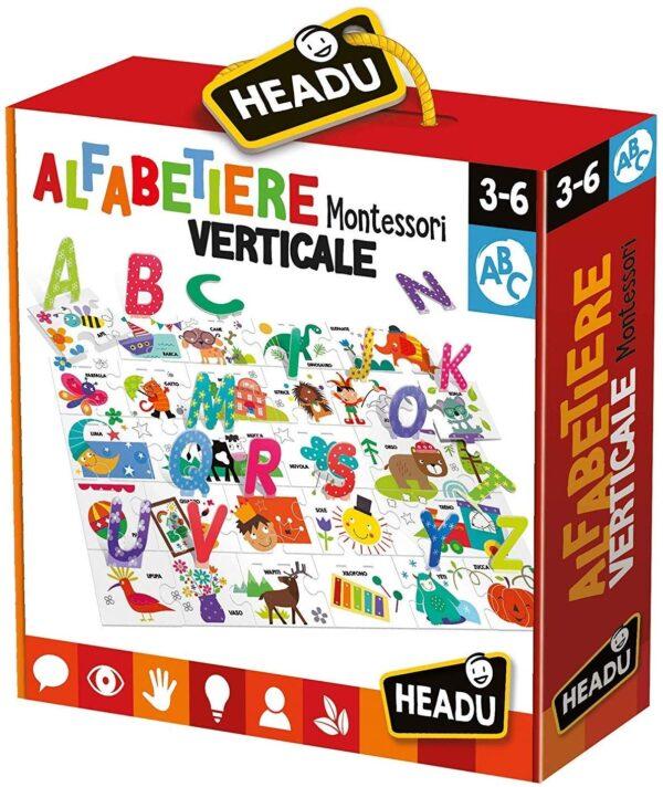 Headu Alfabetiere Verticale Montessori