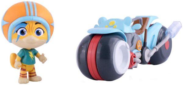 Smoby - 44 Gatti Veicolo con personaggio - assortito Unisex 3-4 Anni, 3-5 Anni, 5-7 Anni, 5-8 Anni