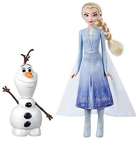 Disney Frozen - Elsa  e Olaf elettronici (Elsa telecomanda Olaf per farlo parlare e ballare, parla in italiano, ispirato al film Frozen 2)