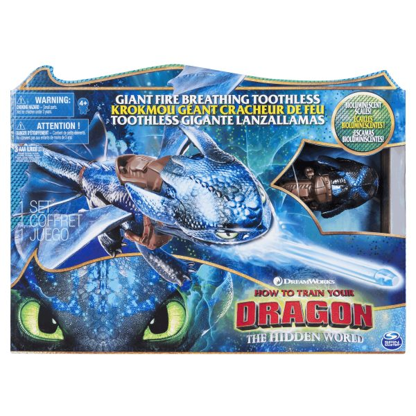 Dragons Feature Fire Breathing Toothless