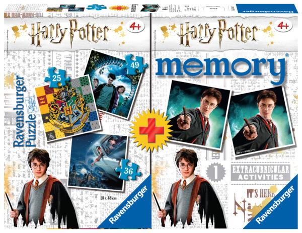 Ravensburger memory Multipack Harry Potter Puzzle di contorno 25 pezzo(i)