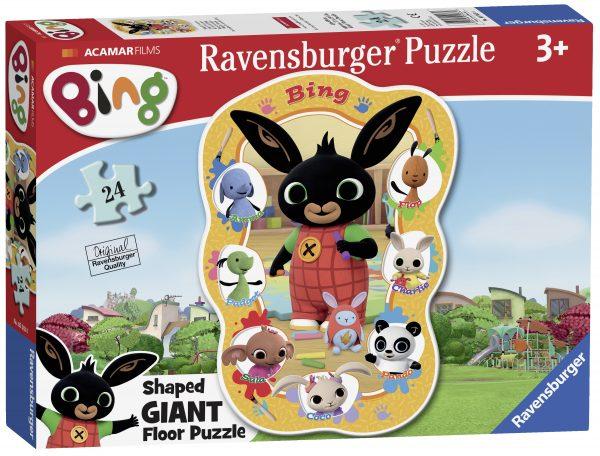 Ravensburger Bing Puzzle 24 shaped