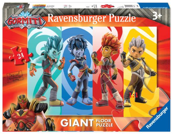 Ravensburger Puzzle pavimento 24 pz Gormiti