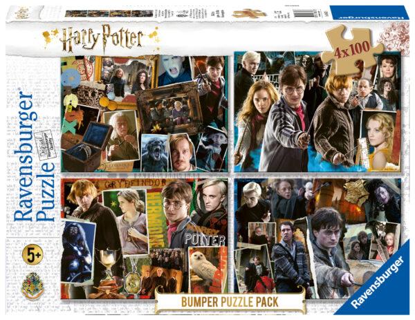 Ravensburger Bumperpack 4x100 Harry Potter