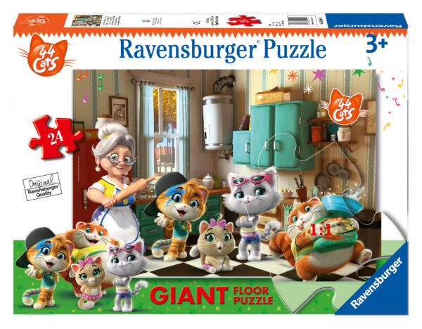 Ravensburger 44 gatti Puzzle 24 Giant