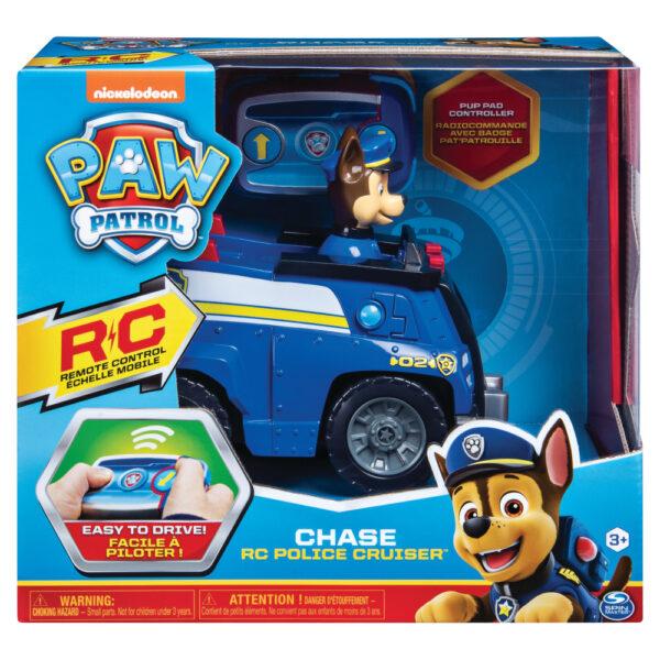 Paw Patrol Chase RC Cruiser Police car Motore elettrico