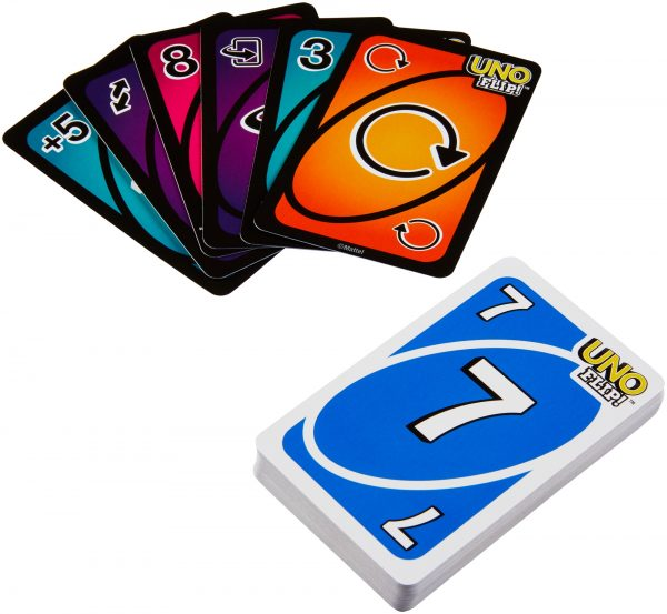 Mattel Games - Uno Flip Gioco di Carte per tutta la Famiglia